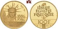 100 Francs 1986. FRANKREICH 5. Republik seit 1958. Polierte Platte  635,00 EUR  zzgl. 5,90 EUR Versand