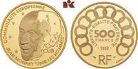 500 Francs (70 Ecus) 1992. FRANKREICH 5. Republik seit 1958. Polierte P... 635,00 EUR  zzgl. 5,90 EUR Versand