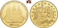 200 Euro 2010. FRANKREICH 5. Republik seit 1958. Polierte Platte  1345,00 EUR kostenloser Versand