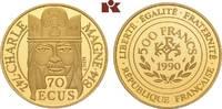 500 Francs (70 Ecus) 1990. FRANKREICH 5. Republik seit 1958. Polierte P... 635,00 EUR  zzgl. 5,90 EUR Versand