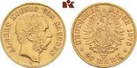 20 Mark 1876. Sachsen Albert, 1873-1902. Fast vorzüglich  575,00 EUR  zzgl. 5,90 EUR Versand