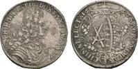 2/3 Taler 1696, Dresden. SACHSEN Friedrich...