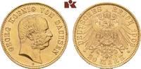 20 Mark 1903. Sachsen Georg, 1902-1904. Fast Stempelglanz  875,00 EUR  zzgl. 5,90 EUR Versand
