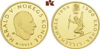 1.500 Kronen 1993, Kongsberg. NORWEGEN Harald V. seit 1991. Polierte Pl... 695,00 EUR  zzgl. 5,90 EUR Versand