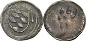 Einseitiger Pfennig fränk. Art, Lauf(?) o.J. Bayern-Ingolstadt Stephan III., 1392-1413 ss, Tuschzahl a. RS, von größter Seltenh