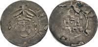 Fulda, Abtei Pfennig auf Würzburger Schlag Friedrich von Romrod, 1383-1395