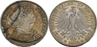 Doppelter Vereinstaler 1862 Frankfurt, Stadt  ss, kl. Kratzer, min. ber... 140,00 EUR  zzgl. 5,90 EUR Versand
