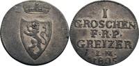 Groschen 1805 Reuß, ältere Linie Heinrich XIII., 1800-1817 ss  70,00 EUR  zzgl. 5,90 EUR Versand