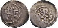 Denar o.J. Würzburg, Hochstift Hermann I. von Lobdeburg, 1225-1254 ss  50,00 EUR  zzgl. 5,90 EUR Versand