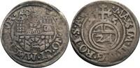1/24 Taler (Groschen) 1575 Magdeburg, Stadt mit Titel von Maximilian II... 25,00 EUR  zzgl. 5,90 EUR Versand