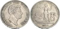 Kronentaler, Stuttgart 1833 Württemberg Wilhelm I., 1816-1864 fast ss  95,00 EUR  zzgl. 5,90 EUR Versand
