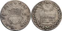 Silberabschlag vom 1/2 Dukaten 1730 Ulm, Stadt  ss  70,00 EUR  zzgl. 5,90 EUR Versand