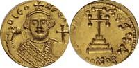 Byzanz Solidus, Constantinopel 695-698 fast St, winz. Prägeschwäche, sel... 1850,00 EUR kostenloser Versand