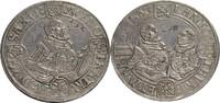 Sachsen, ernestinische Linie Taler, Saalfeld Johann Friedrich II., Johann Wilhelm und Johann Friedrich III., 1554-1557