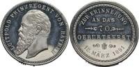 Zinnmedaille 1891 Bayern Luitpold, 1886-1913 vz +  25,00 EUR  zzgl. 5,90 EUR Versand