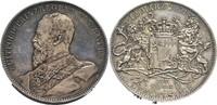 Silbermedaille 1901 Bayern Luitpold, 1886-1913 vz, feine, dunkle Tönung  45,00 EUR  zzgl. 5,90 EUR Versand