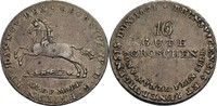 16 Gute Groschen, Clausthal 1821 Hannover Georg IV., 1820-1830 ss, Krat... 60,00 EUR  zzgl. 5,90 EUR Versand