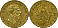 Deutschland Preussen 20 Mark König Friedrich III.