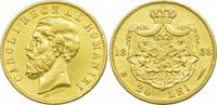 20 Lei 1883 Rumänien Karl I. ss-vz  349,00 EUR kostenloser Versand