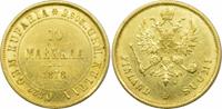 10 Markkaa 1878 S Finnland Alexander II. vz+  359,00 EUR kostenloser Versand