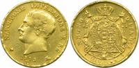 20 Lire 1813 M Italien Königreich Napoleon I. ss  339,00 EUR kostenloser Versand
