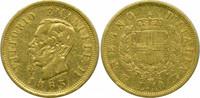10 Lire 1863 Italien Victor Emmanuel II. ss  155,00 EUR  zzgl. 4,00 EUR Versand