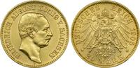 20 Mark 1905 E Kaiserreich Sachsen König Friedrich August III. vz  395,00 EUR kostenloser Versand