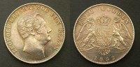 2 Gulden 1852 Baden  vzgl  245,00 EUR kostenloser Versand