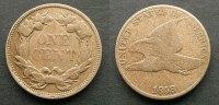 1 Cent 1858 USA  s, fine  38,00 EUR  zzgl. 4,00 EUR Versand
