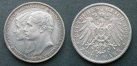 2 Mark 1903 Sachsen Weimar Eisenach  vzgl 2 kerben  100,00 EUR  zzgl. 4,00 EUR Versand