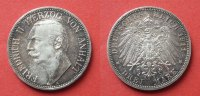 3 Mark 1911 Anhalt  ss/vzgl  100,00 EUR