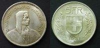 5 Franken 1931 Schweiz  vzgl+  50,00 EUR  zzgl. 4,00 EUR Versand