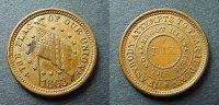 1 Cent Token 1863 USA  ss+  40,00 EUR