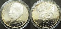 50 Kronen 1971 Tschechoslowakei  PP  40,00 EUR  zzgl. 4,00 EUR Versand