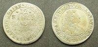 1/12 Taler 1714 Sachsen Meiningen  ss  35,00 EUR  zzgl. 4,00 EUR Versand