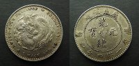 China Provinz Kwangtung 20 Cent
