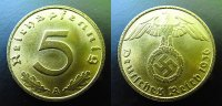Drittes Reich 5 Pfennig 