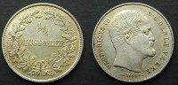 1/2 Rigsdaler 1854 Dänemark  vzgl/ss+  65,00 EUR  zzgl. 4,00 EUR Versand