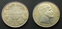 1 Rigsdaler 1854 Dänemark  vzgl  135,00 EUR kostenloser Versand