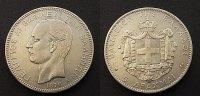 5 Drachmai 1876 Griechenland  ss/ss+  60,00 EUR  zzgl. 4,00 EUR Versand