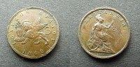 1 Lepta 1862 Griechenland Ionische Insel  ss, Kratzer  40,00 EUR  zzgl. 4,00 EUR Versand