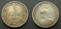 1/4 Rupie 1907 J Deutsch Ostafrika  ss  45,00 EUR  zzgl. 4,00 EUR Versand