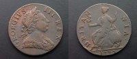 1/2 Penny 1773 Großbritannien  ss  45,00 EUR  zzgl. 4,00 EUR Versand