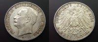 3 Mark  1914 Baden  ss  35,00 EUR  zzgl. 4,00 EUR Versand