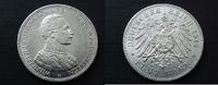 5 Mark Uniform 1914 Preussen  vzgl / Avers berieben  40,00 EUR  zzgl. 4,00 EUR Versand