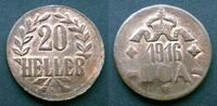 20 Heller 1916 T Deutsch Ostafrika  vzgl, zaponiert  60,00 EUR  zzgl. 4,00 EUR Versand