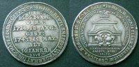 Silberabschlag vom Doppeldukat 1743 Sachsen Coburg Saalfeld  vzgl  140,00 EUR kostenloser Versand