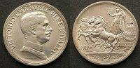 2 Lire 1917 Italien  stgl  95,00 EUR  zzgl. 4,00 EUR Versand