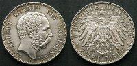 2 Mark 1902 Sachsen  stgl  150,00 EUR kostenloser Versand