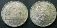 2 Deutsche Mark 1951 D BRD  fstgl  60,00 EUR